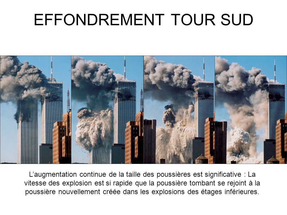 EFFONDREMENT TOUR SUD