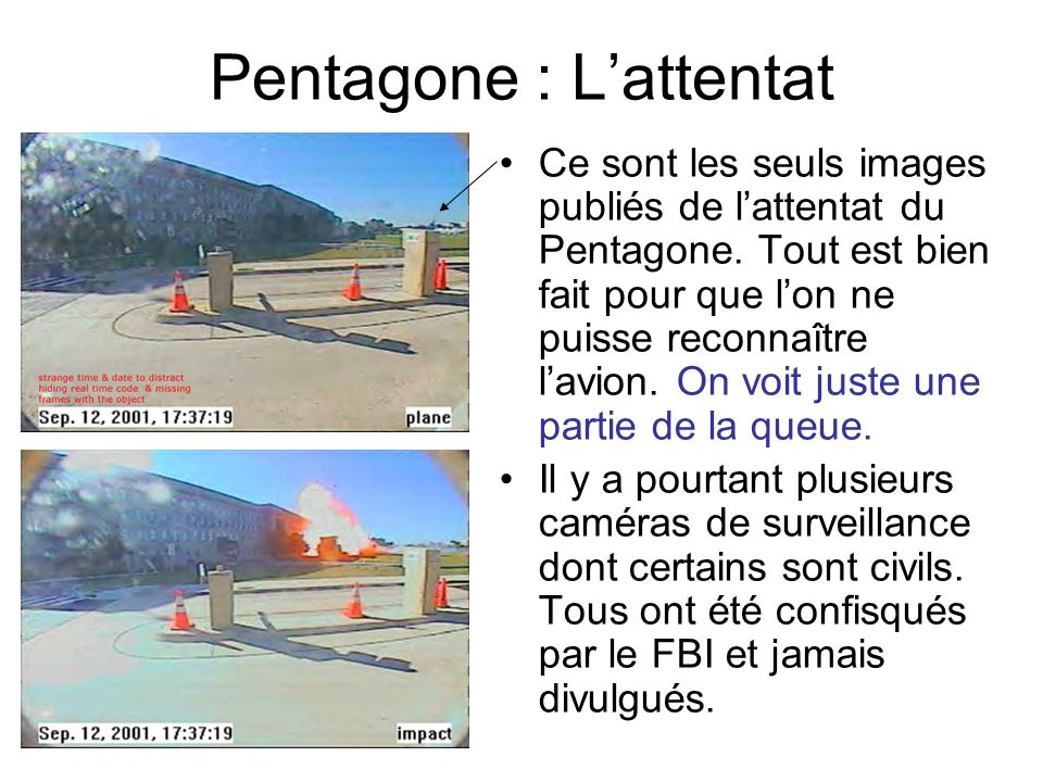 Pentagone : L'attentat