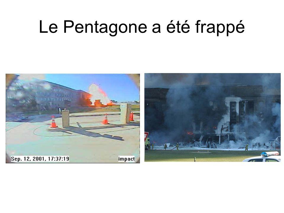 Le Pentagone a été frappé