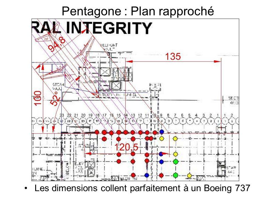 Pentagone : Plan rapproché