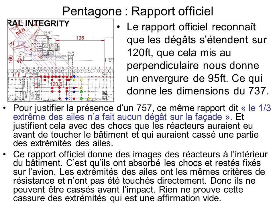 Pentagone : Rapport officiel