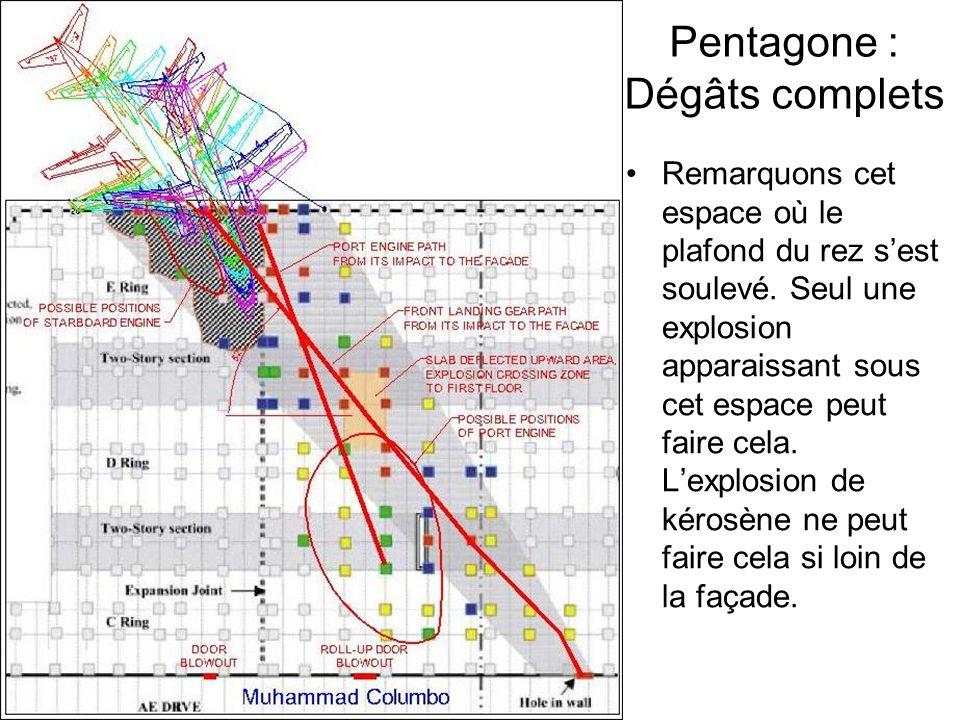 Pentagone : Dégâts complets