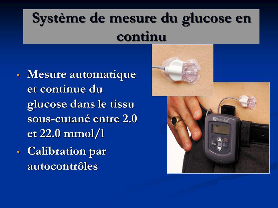 Système de mesure du glucose en continu