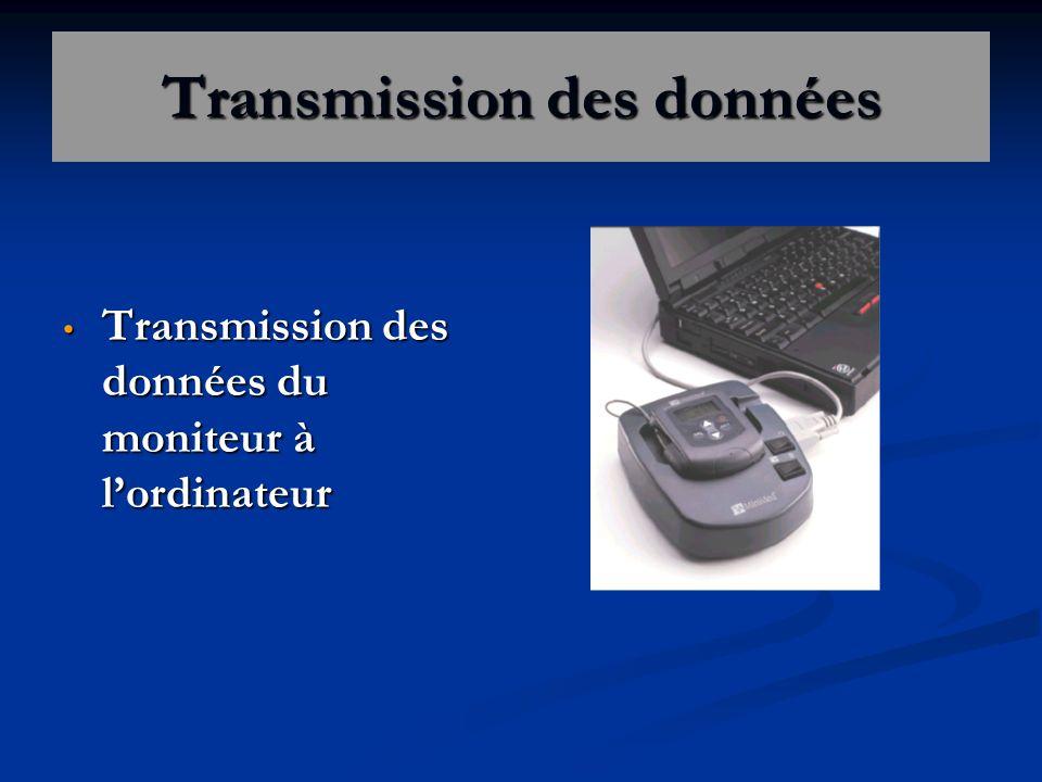 Transmission des données