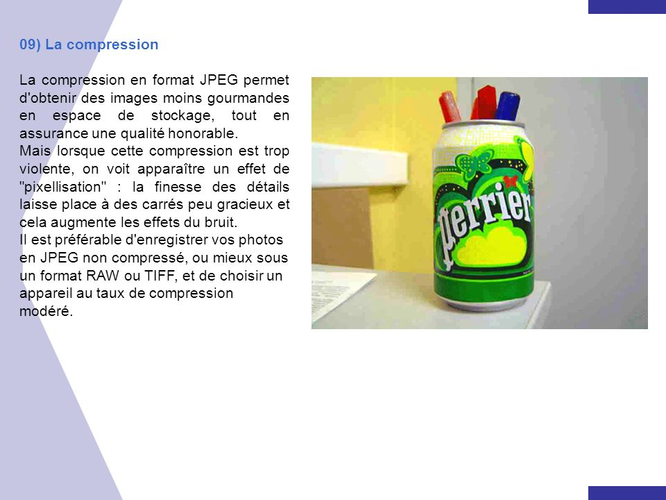 09) La compression