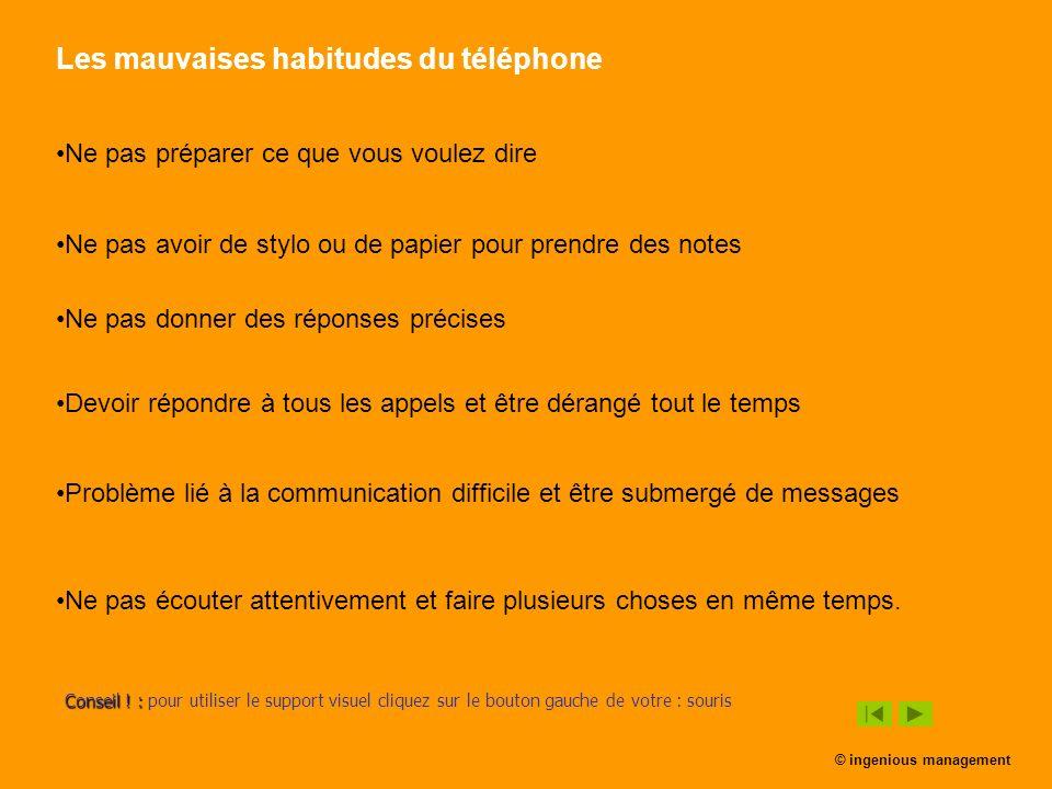 Les mauvaises habitudes du téléphone