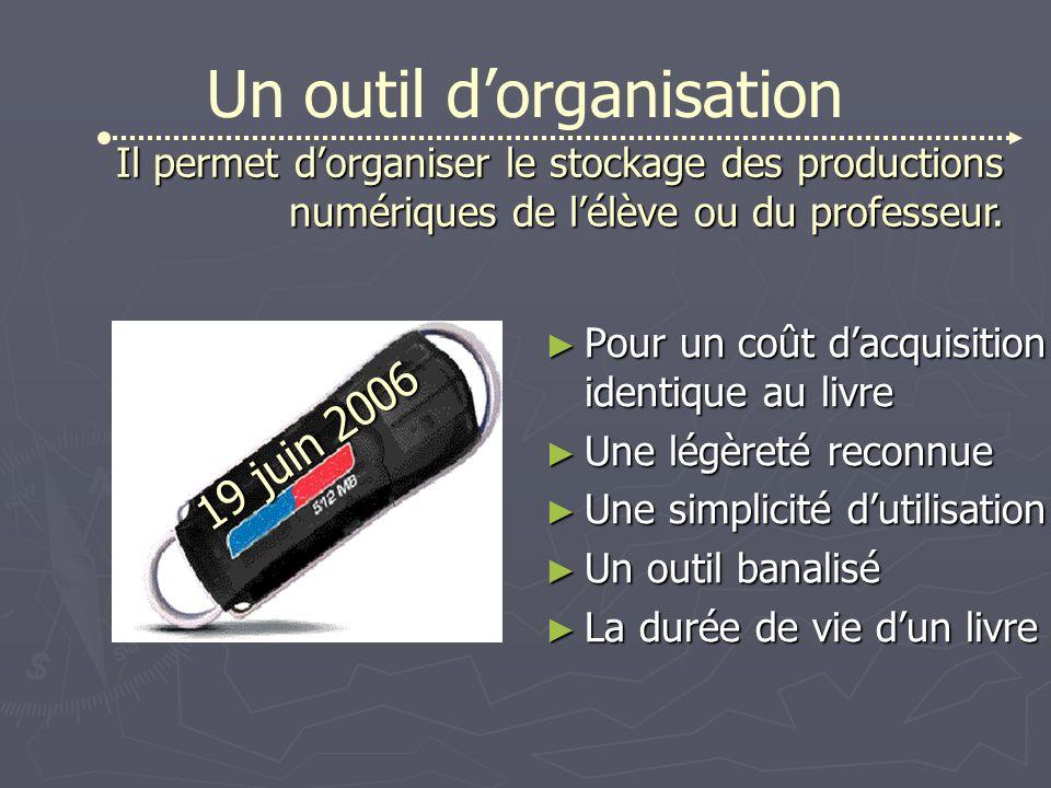 Un outil d'organisation