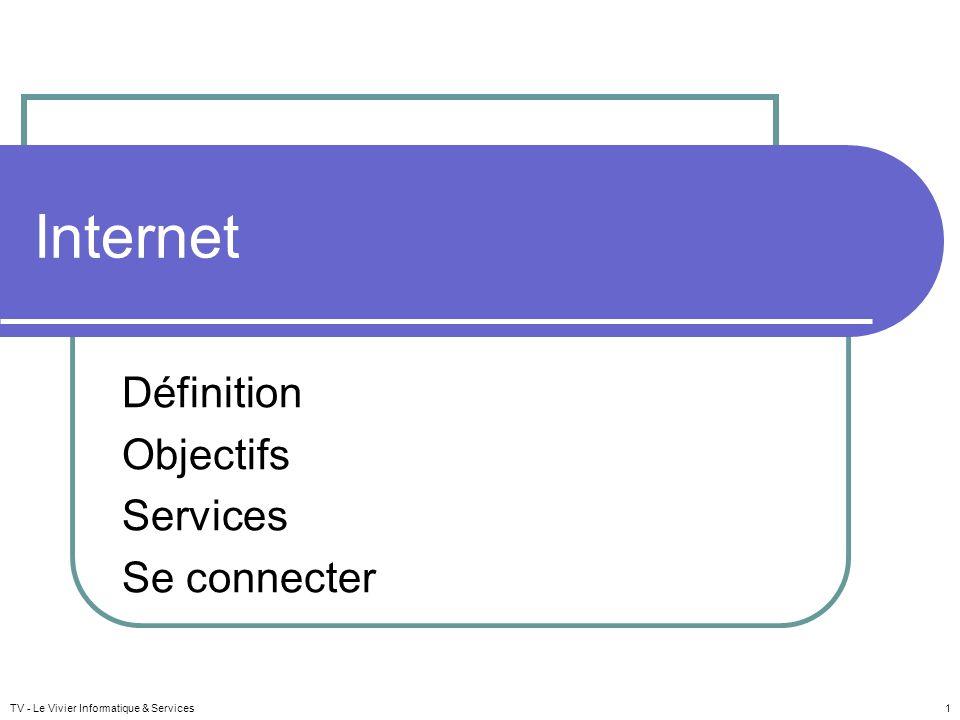 Définition Objectifs Services Se connecter