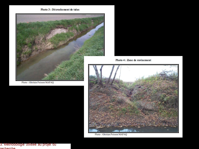 l érosion des berges de la rivière est une question importante