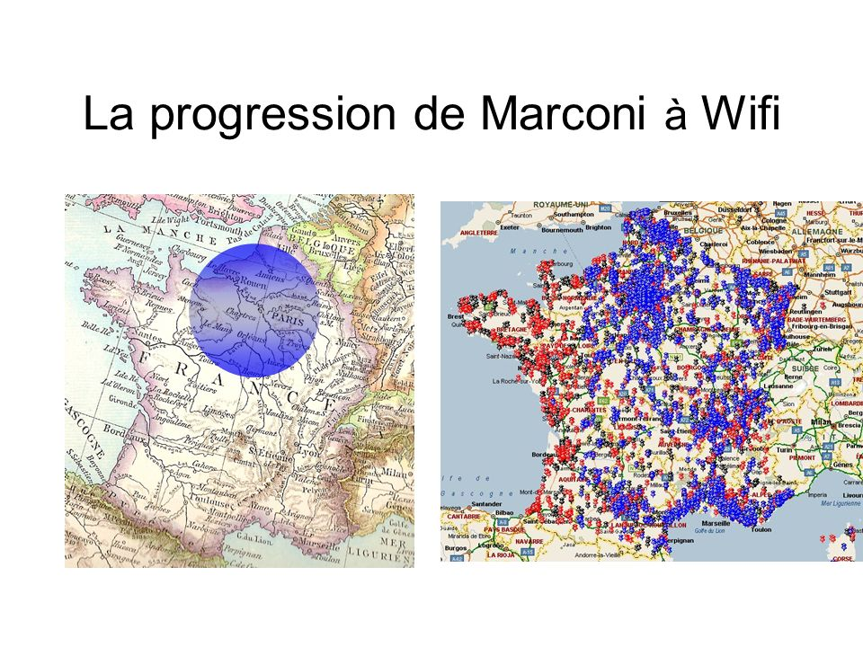 La progression de Marconi à Wifi