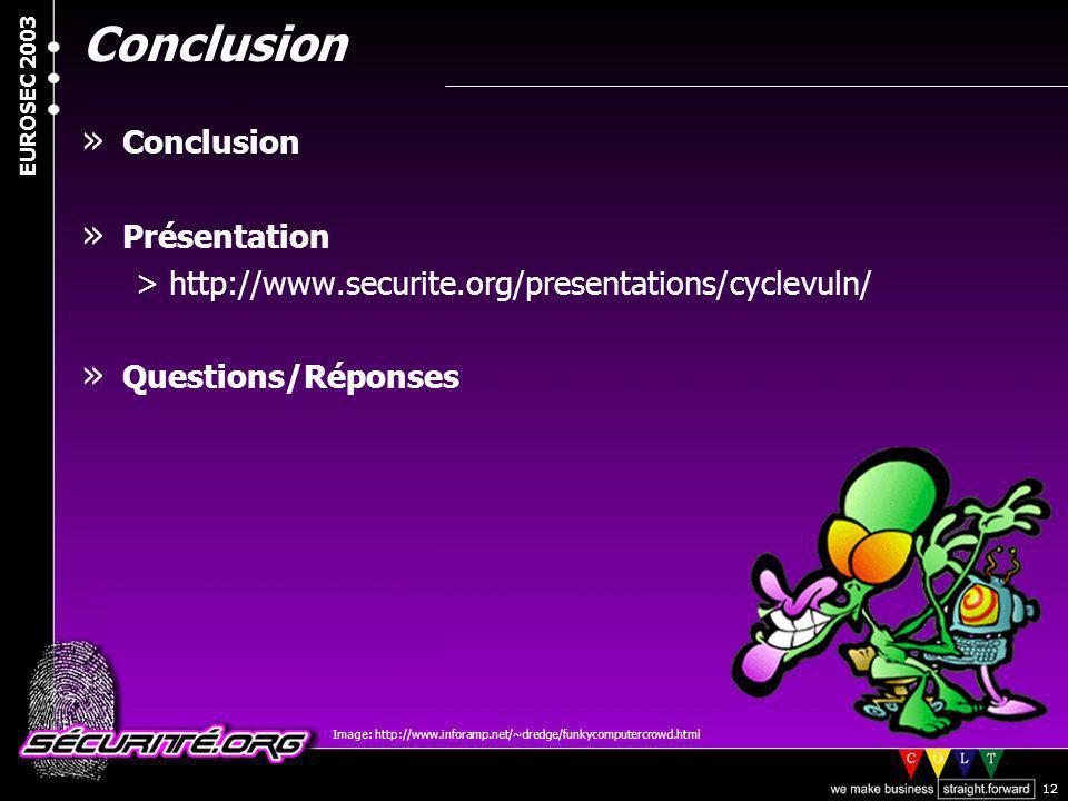 Conclusion Conclusion Présentation