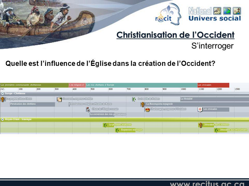 Christianisation de l'Occident