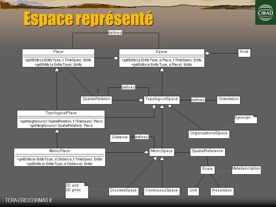 Espace représenté TERA-ERE/CORMAS II