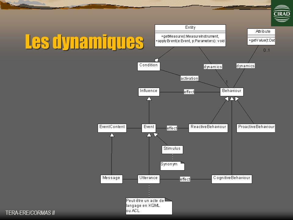 Les dynamiques TERA-ERE/CORMAS II
