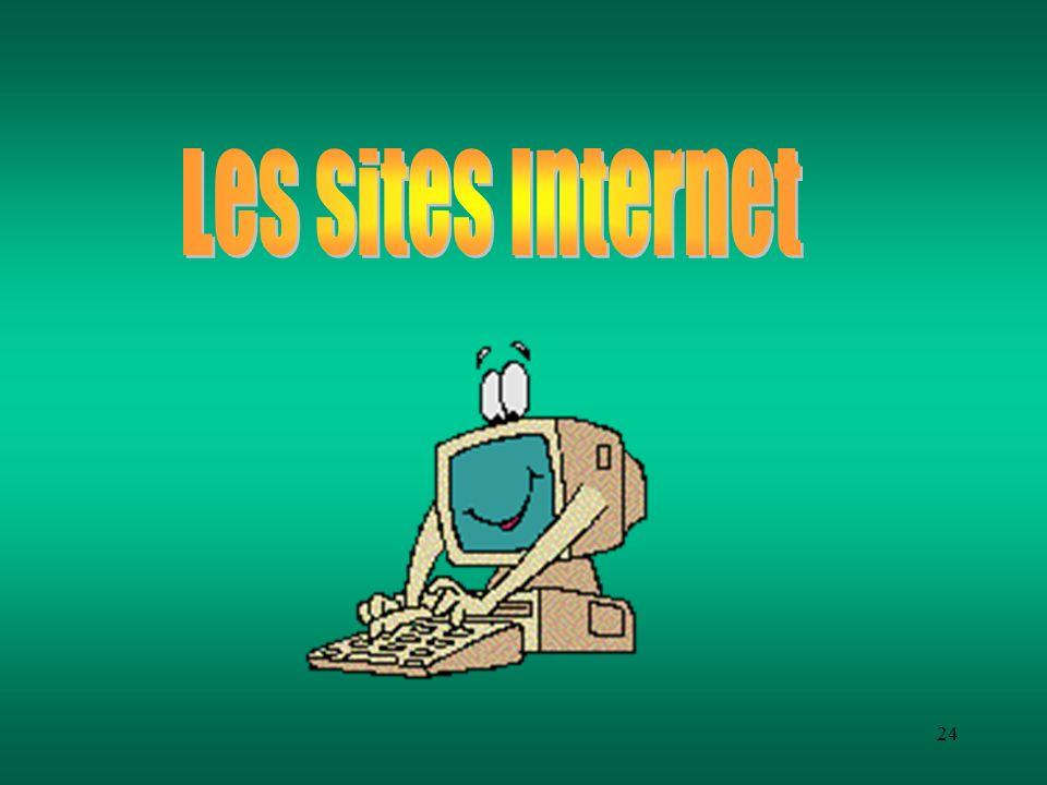 Les sites Internet