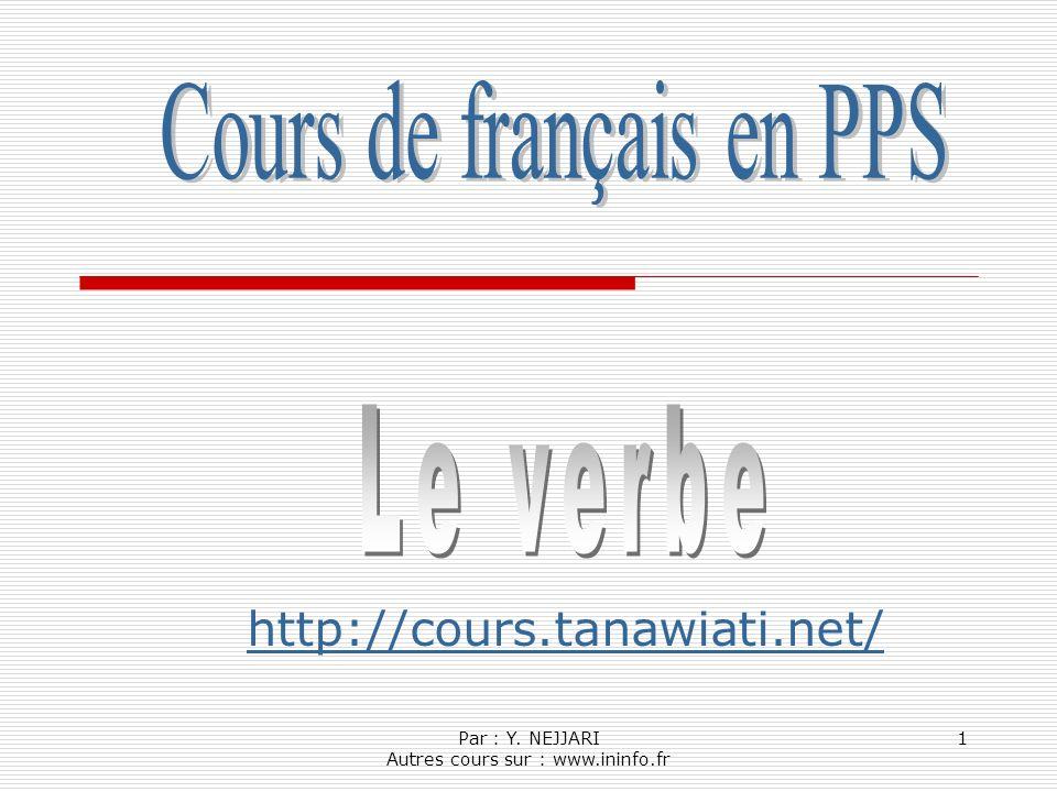 Cours de français en PPS