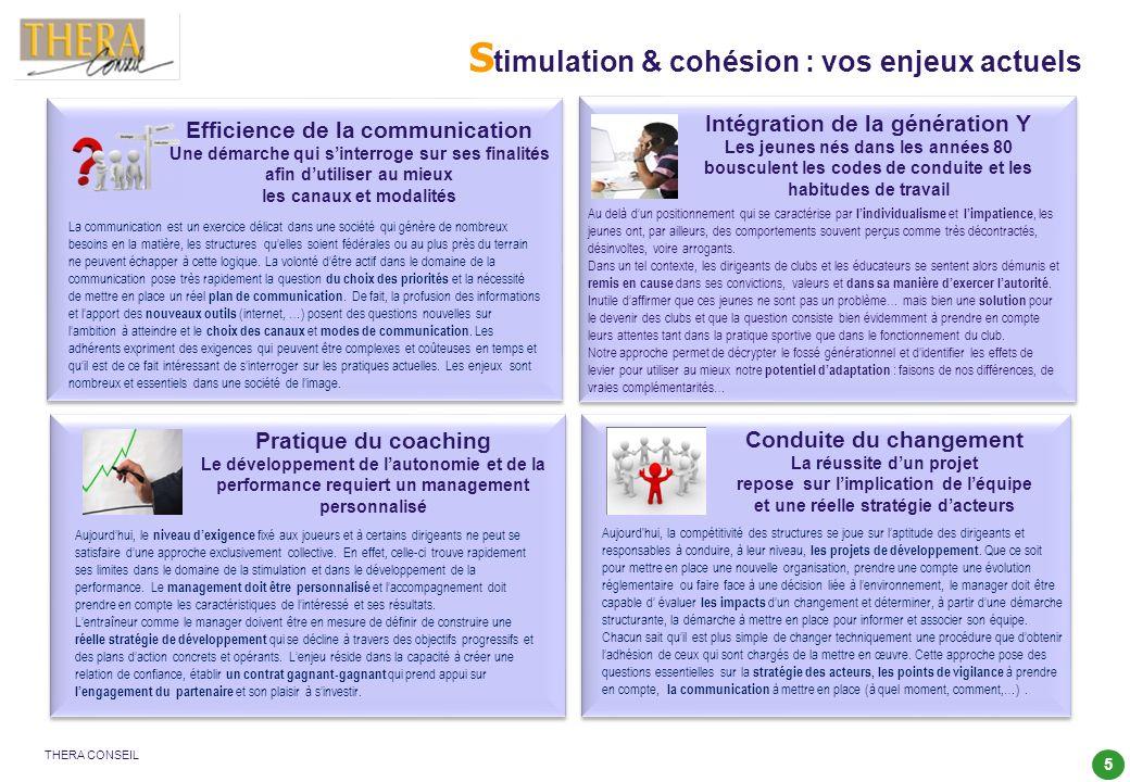Stimulation & cohésion : vos enjeux actuels