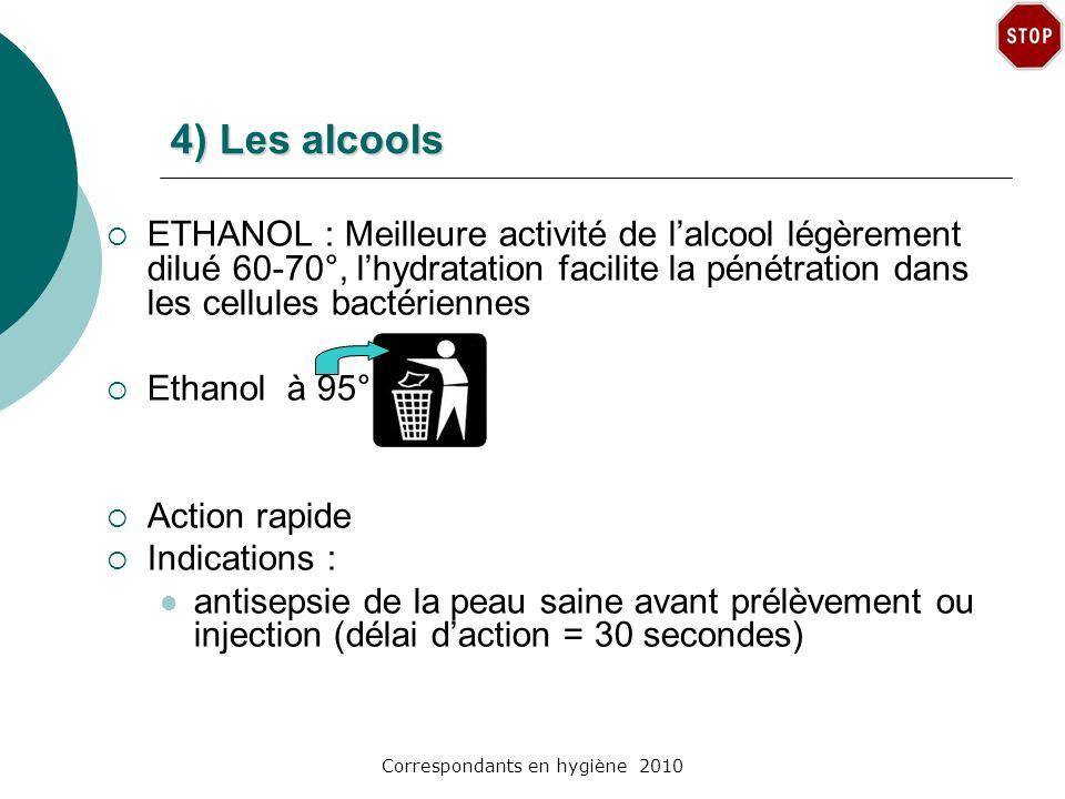 Correspondants en hygiène 2010