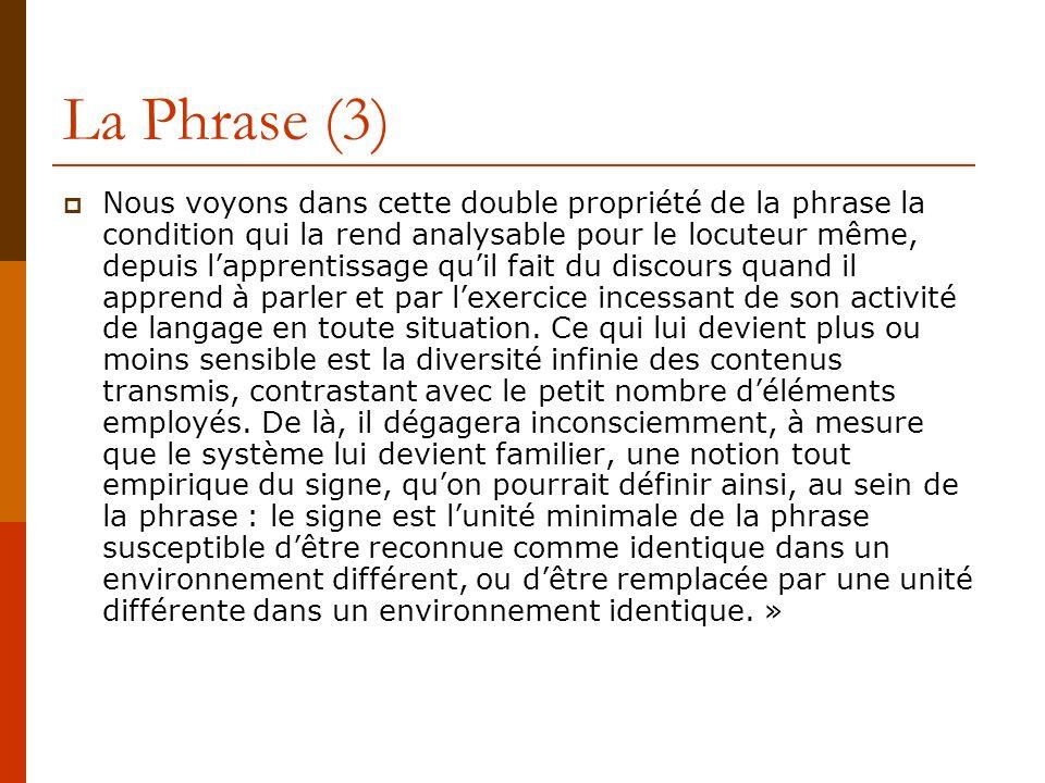 La Phrase (3)