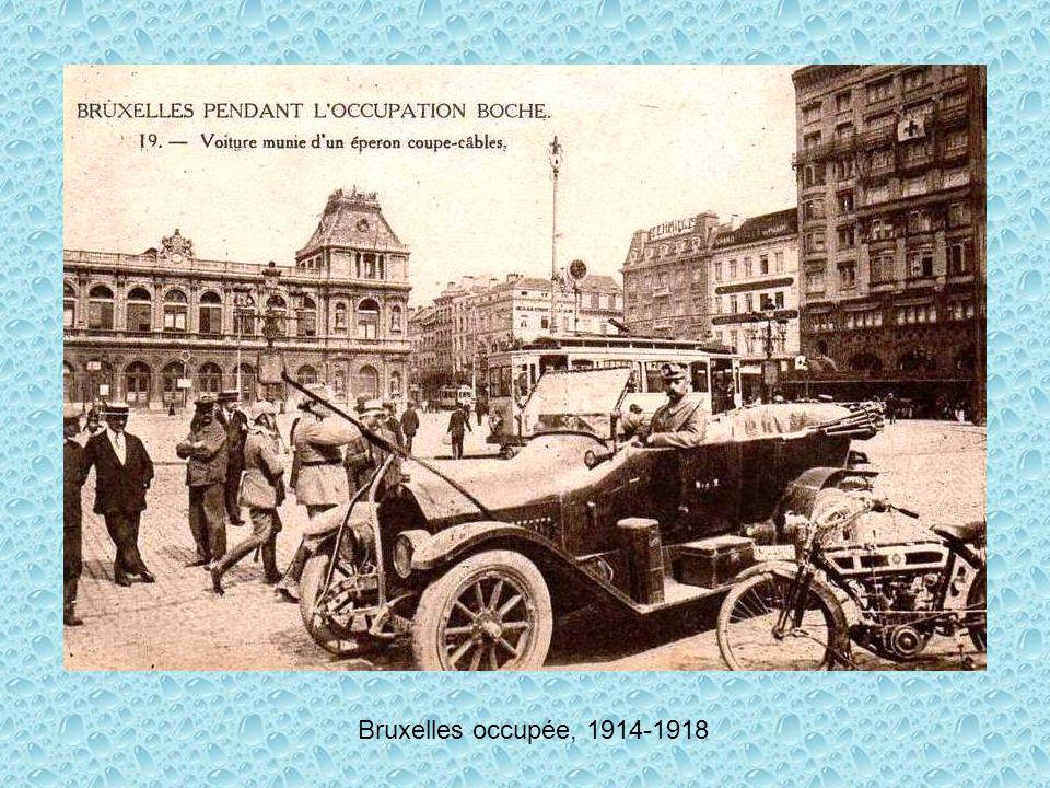 Bruxelles occupée, 1914-1918