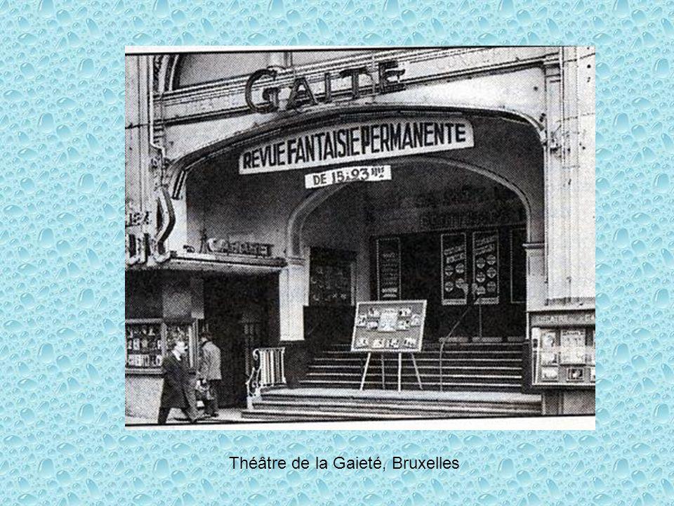 Théâtre de la Gaieté, Bruxelles