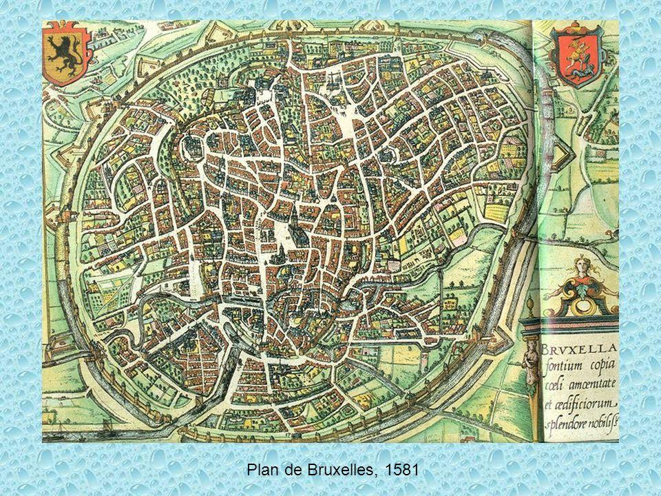 Plan de Bruxelles, 1581