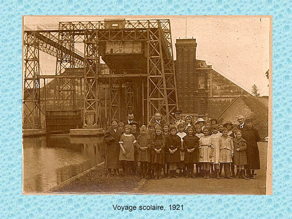 Voyage scolaire, 1921