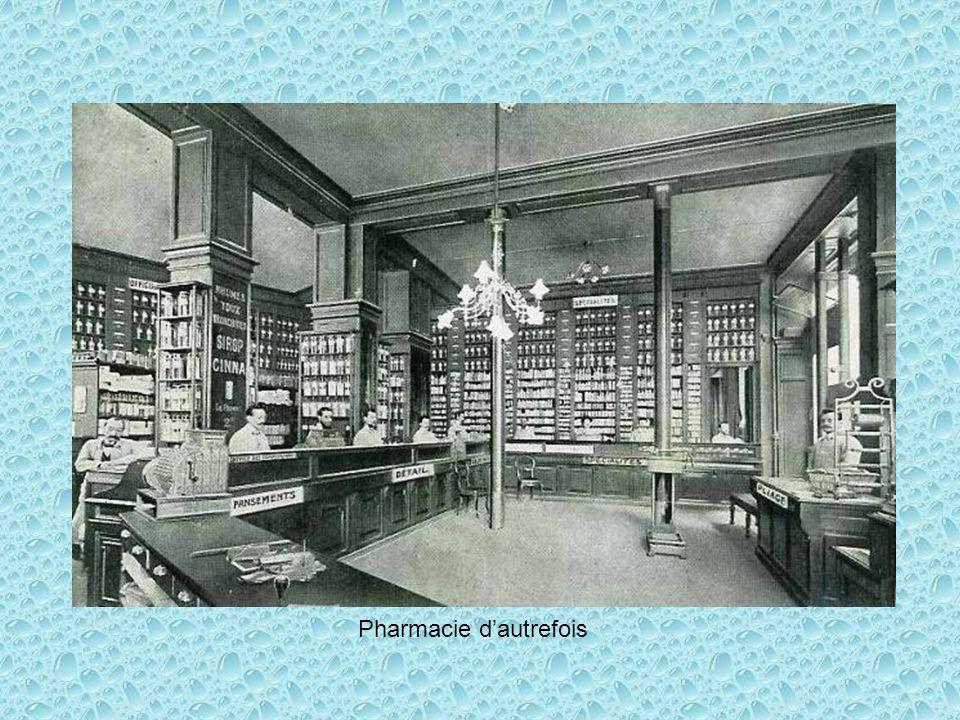 Pharmacie d'autrefois