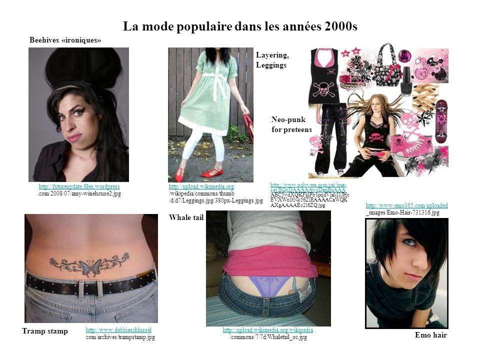 La mode populaire dans les années 2000s