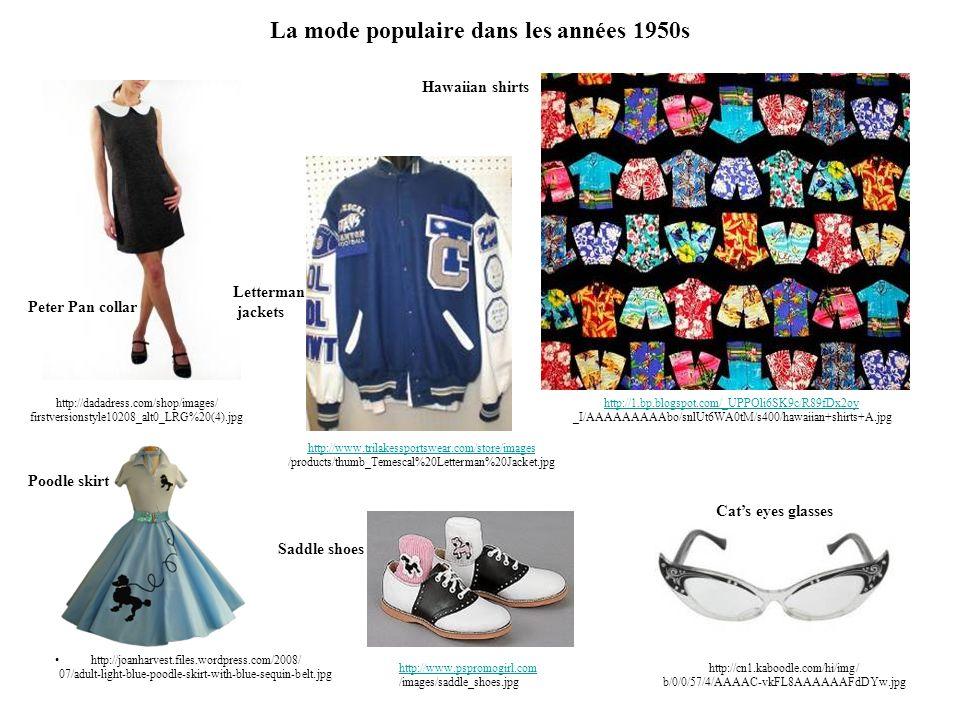 La mode populaire dans les années 1950s