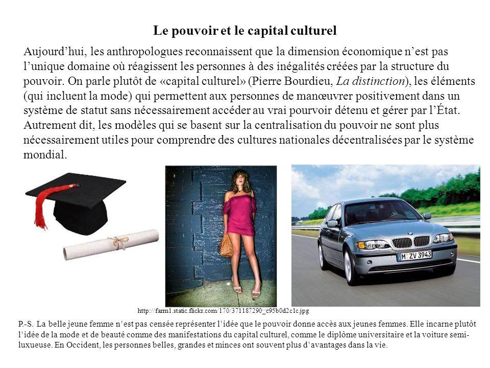 Le pouvoir et le capital culturel