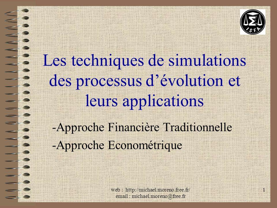 Approche Financière Traditionnelle Approche Econométrique