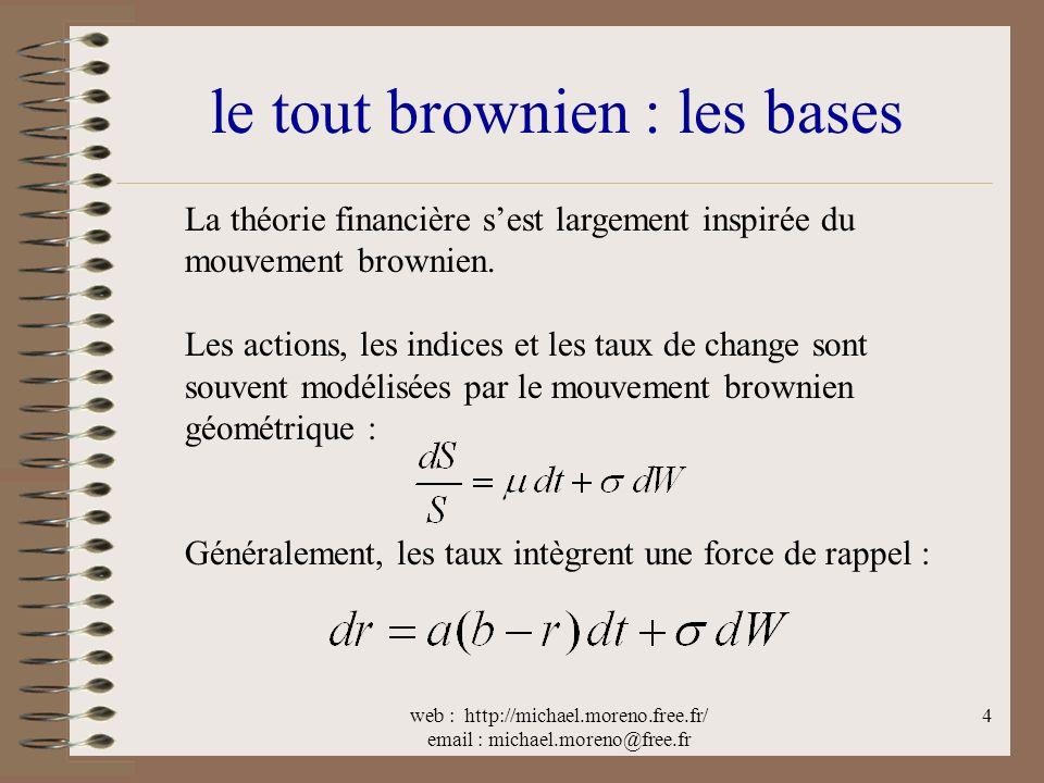 le tout brownien : les bases