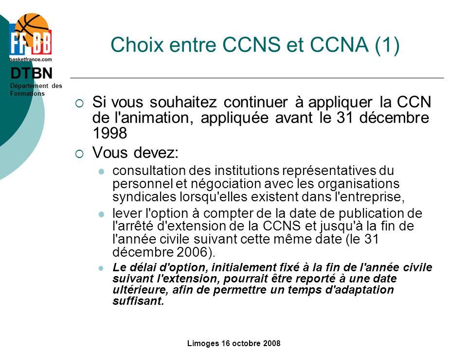 Choix entre CCNS et CCNA (1)