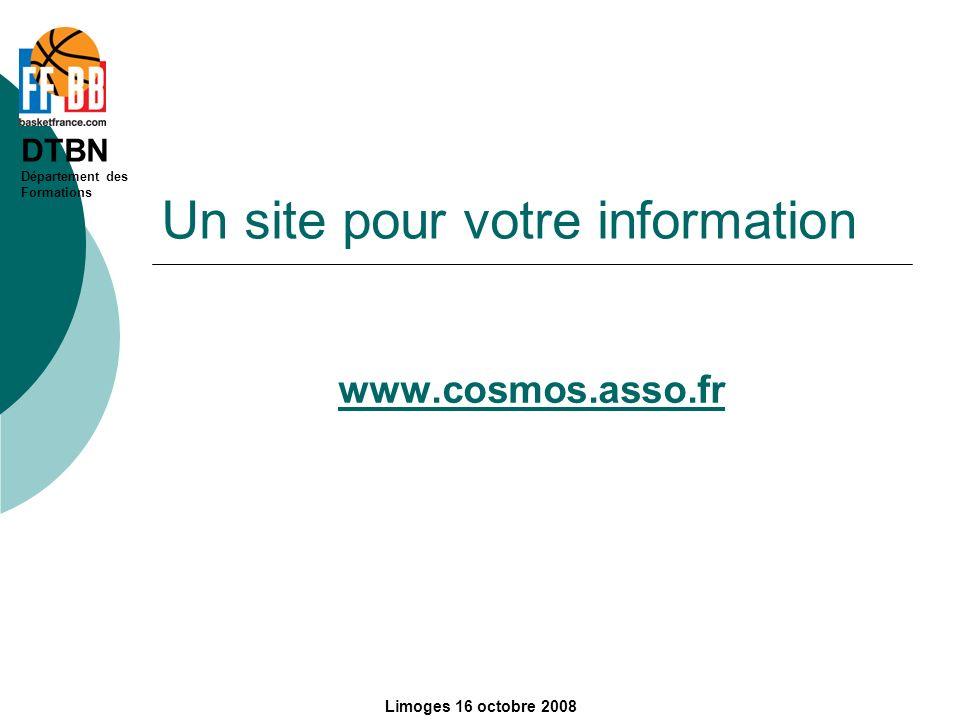 Un site pour votre information