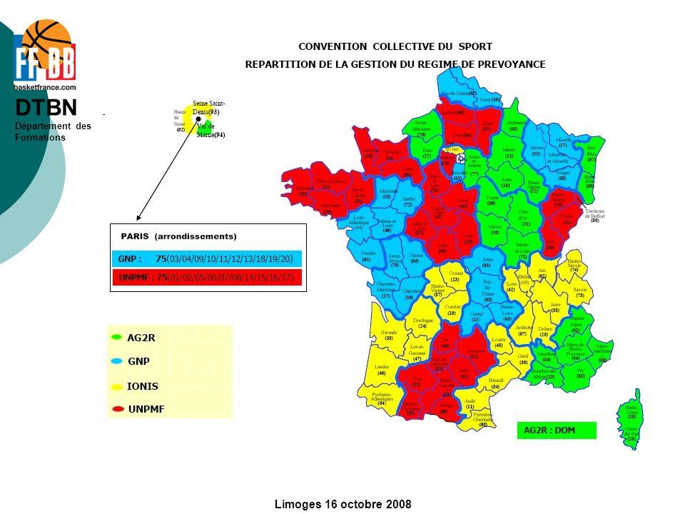 Limoges 16 octobre 2008