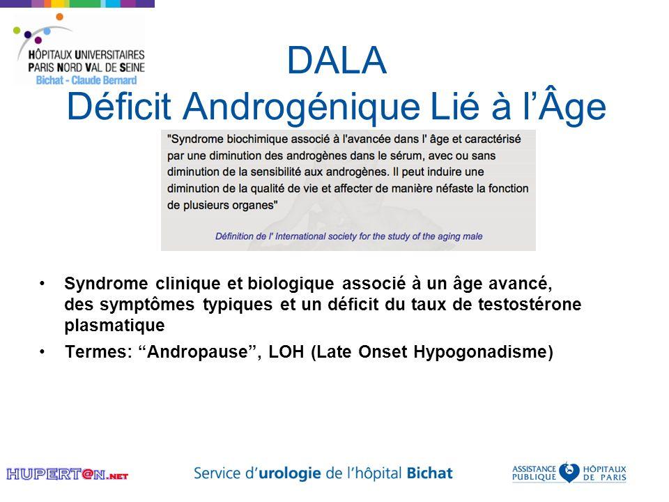 DALA Déficit Androgénique Lié à l'Âge