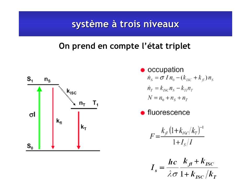 système à trois niveaux