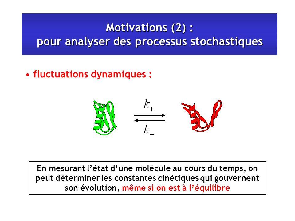 Motivations (2) : pour analyser des processus stochastiques