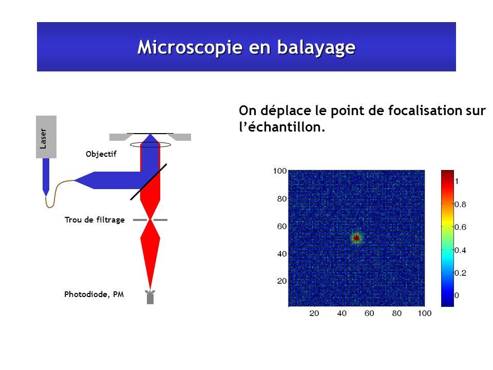 Microscopie en balayage