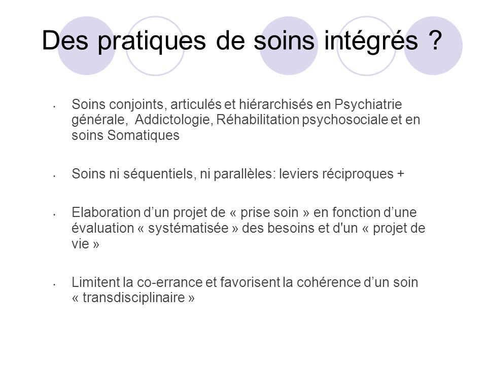 Des pratiques de soins intégrés