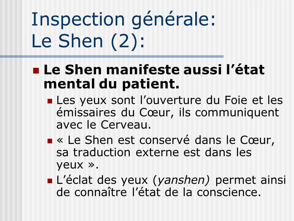 Inspection générale: Le Shen (2):