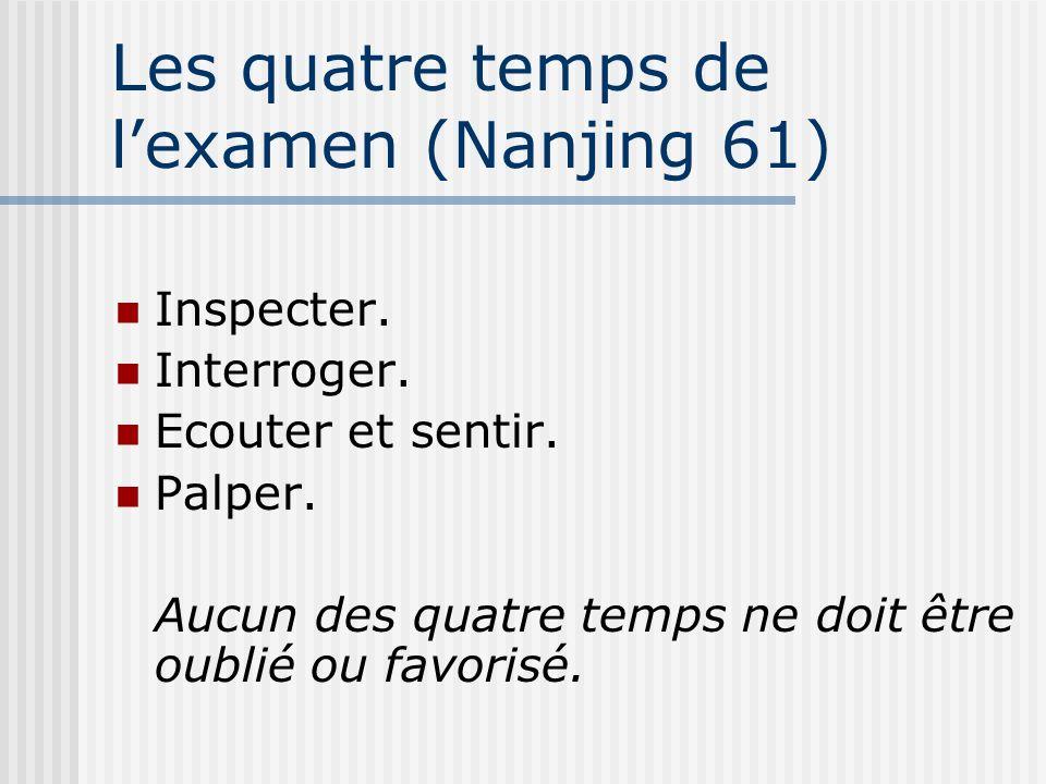 Les quatre temps de l'examen (Nanjing 61)