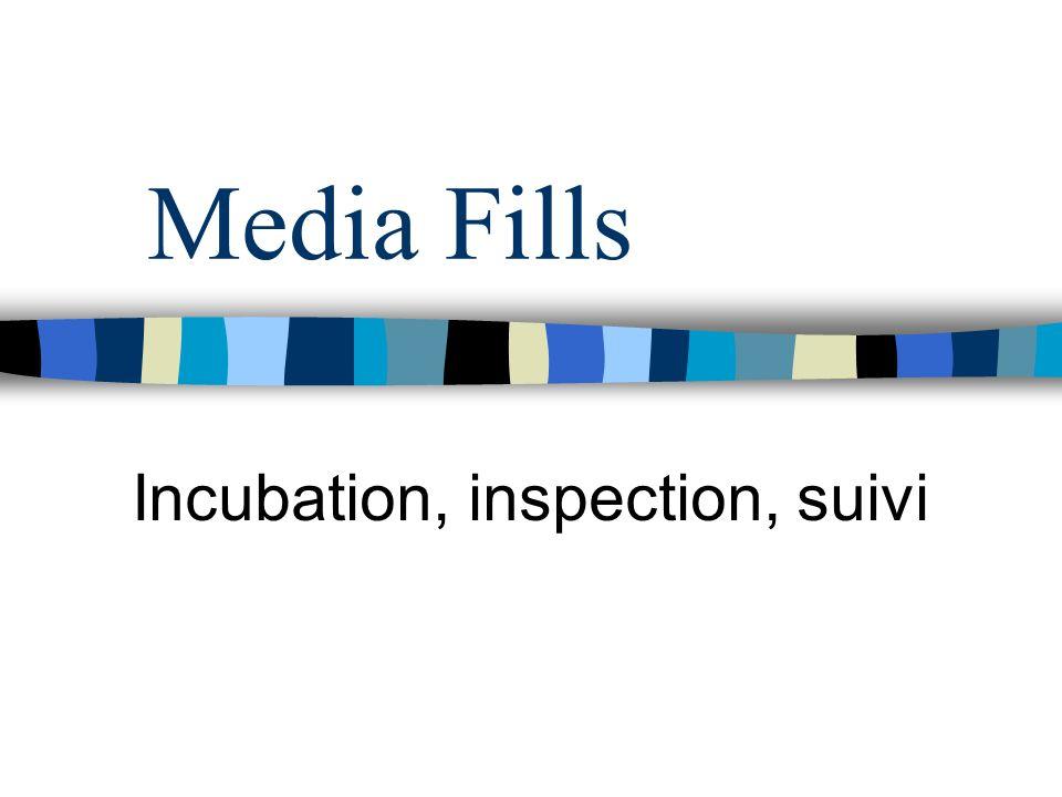 Incubation, inspection, suivi