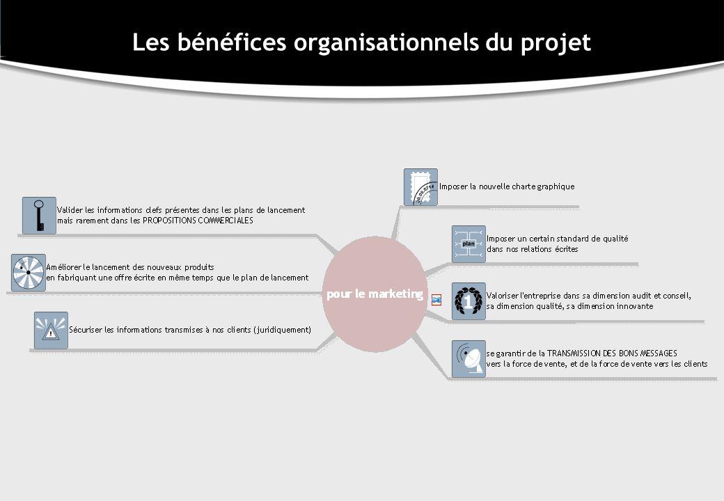Les bénéfices organisationnels du projet