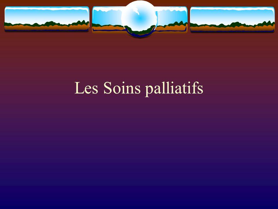 Les Soins palliatifs
