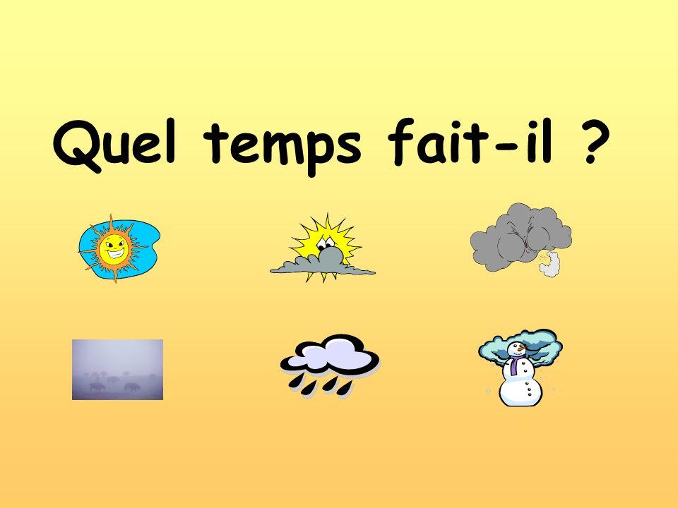 Quel temps fait-il
