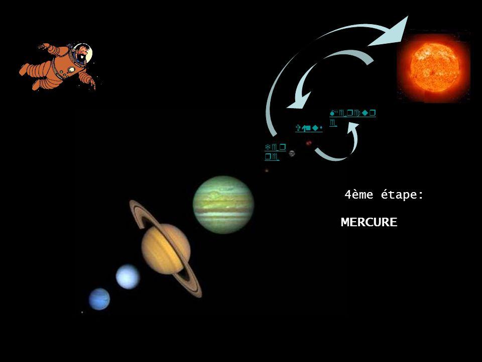 MERCURE Mercure 4ème étape: Vénus Terre