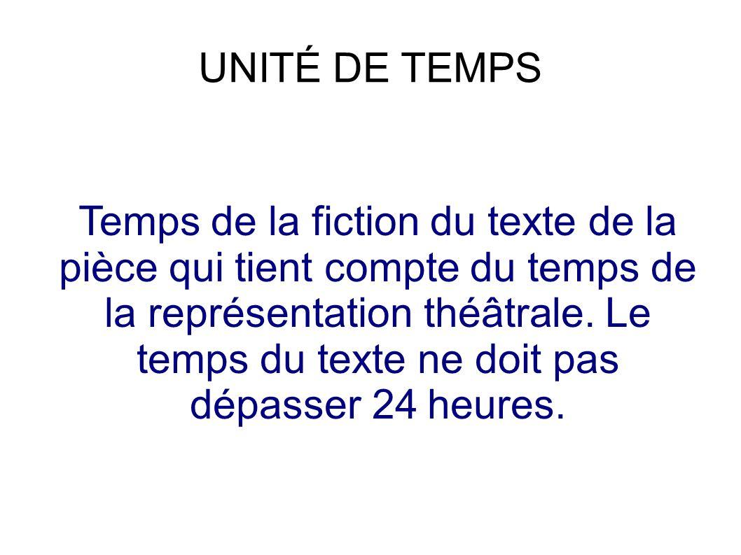 UNITÉ DE TEMPS