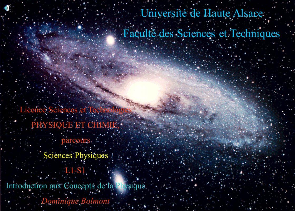 Université de Haute Alsace Faculté des Sciences et Techniques